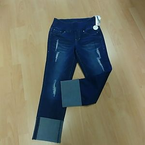 Jag Lewis Straight Cuffed Jeans